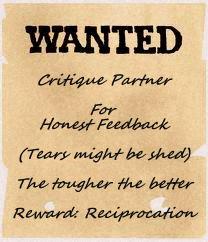 Wanted: Critique Partner